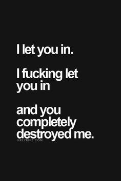 I let u in....                                                                                                                                                                                 More
