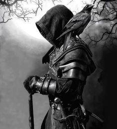 A nice place for the sharing of all kinds of Fantasy. Ninja Kunst, Arte Ninja, Ninja Art, Fantasy Kunst, Dark Fantasy Art, Dark Art, Fantasy Armor, Medieval Fantasy, Fantasy Character Design