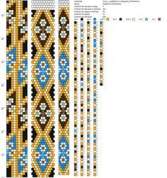Crochet Bracelet Pattern, Loom Bracelet Patterns, Crochet Beaded Bracelets, Bead Crochet Patterns, Bead Crochet Rope, Beaded Jewelry Patterns, Beading Patterns, Bead Jewellery, Brick Stitch