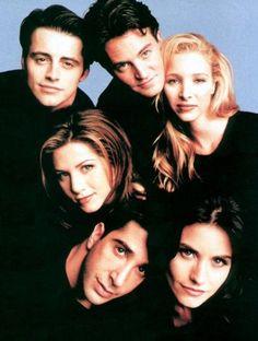 Joey, Chandler, Phoebe, Rachel, Ross e Monica
