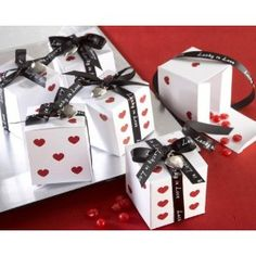 Click to buy Wedding Reception Decoration Ideas: Lucky in Love Dice from Amazon!