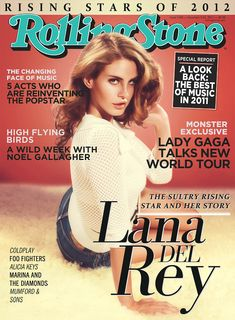 Lana del Rey on the cover of Rolling Stones