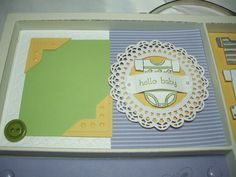 31 Days of Doilies--Day 11 (Baby Tees Photo Frame) - Song of My Heart Stampers