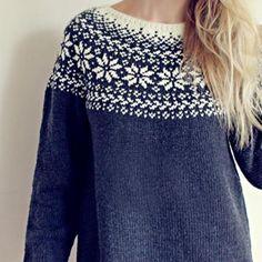 Knitting Pattern Beautiful Norwegian Sweater Loose fit Source by lenaneel Fair Isle Knitting Patterns, Sweater Knitting Patterns, Free Knitting, Knitting Sweaters, Sock Knitting, Knitting Machine, Vintage Knitting, Tejido Fair Isle, Motif Fair Isle