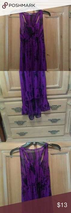 sheer dress PRE-OWNED good. Condition Dresses High Low