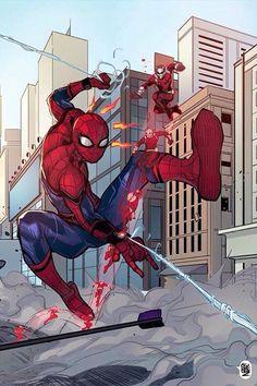 Spiderman vs Antman