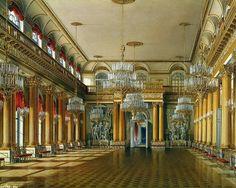 Интерьер-Зимний дворец