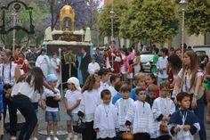 Procesión de la Buena Madre. Fotos de Valentín López.