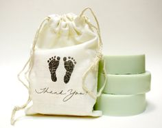 Baby Shower Soap Favors  Set of 20 with Stamped by LBAYBathandBody, $70.00