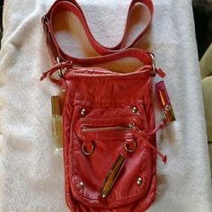 EASTER SALE Maunnces Cross Body Purse. Sping Color,VERY  Good  Condition, Maunces Bags Crossbody Bags