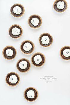 ghostbuster candy bar tartlets