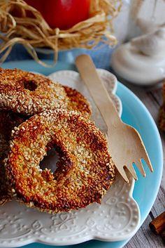 Egy diétás desszert mindig jól jön a téli estéken, főleg, ha almával készül. Még a lelkiismeretünk is csendben mar...