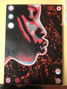 painting of african women on canvas by AbstractGraffitiShop, $50.00