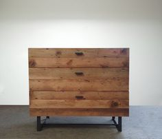 Blakeavenue : Beautifully Modern Reclaimed Old Growth Dresser