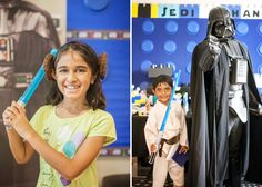 Legos and Lightsabers Star Wars Party | Intergalactic Photo Booth