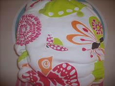 Goodmama One Size Fitted Diaper Social Butterfly