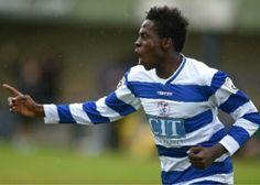 Bidemi Afolabi playing for Oxford City