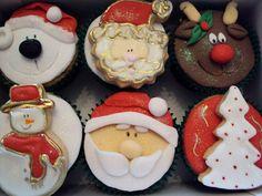 Cupcake de Natal / DIY, Candy