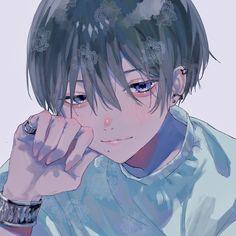 Dark Anime, Anime Oc, Kawaii Anime, Manga Anime, Hot Anime Boy, Cute Anime Guys, Cute Anime Couples, Arte Emo, Anime Boy Zeichnung