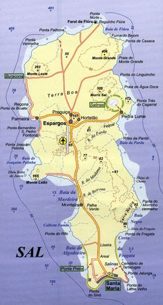 60 best Cape Verde images on Pinterest   Cape verde  Cable and Cabo Sal  Cape Verde  Map