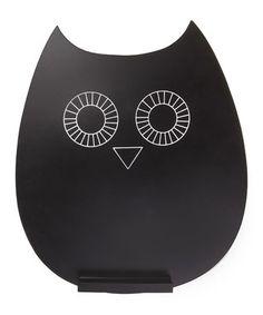 #Owl chalkboard.