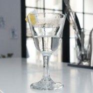 A glass of Vesper Martini may be half full or half empty
