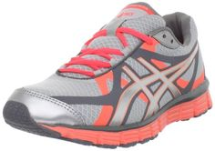 ASICS Women's GEL-Extreme33 Running Shoe, Lightning/Silver/Neon Coral