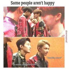 Wonhui jealous of Gyuhao