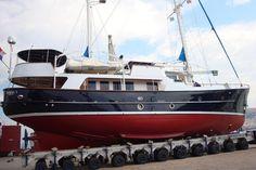 1986 Seaton Steel Motorsailer 26m Sail Boat For Sale - www.yachtworld.com