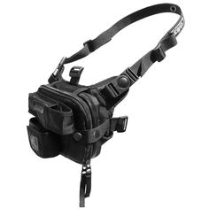 _ unique harness system - easily convert from chest pack mode to waist pack, bandoleer, shoulder bag modes. _ Loader RG™ combines (2) Utility RG™ modules. _ main pack interior can hold: pen, AA batteries, to