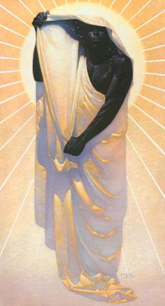 Thomas Blackshear Night and Day (Illustration on the cover of Toni Morrison's book, Song of Solomon, which was cited by the Swedish Academy in Awarding Ms. Morrison the 1993 Nobel Prize in literature. African American Artist, African Art, American Artists, Thomas Blackshear, Orisha, Spiritus, Day For Night, Art Night, Print Artist