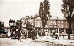 Turnpike Lane before underground station North London, Old London, Local History, Past, Street View, Wood, Happy, Green, Madeira