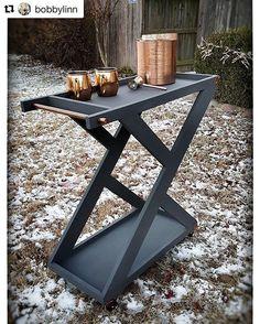 Beautiful work, Bobby! He built the Bar Cart: https://www.buildsomething.com/plans/P94D957D5334CEEC7/BarCart