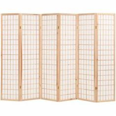 Shop for Folding Room Divider Japanese Style Natural. Get free delivery On EVERYTHING* Overstock - Your Online Home Decor Outlet Store! Folding Screen Room Divider, 4 Panel Room Divider, Folding Screens, Japanese Room Divider, Room Deviders, Japanese Living Rooms, Dressing Screen, Sala Grande, Japanese Furniture