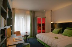 Hotel Bel Ami Paris on the Left Bank has some vibrant contemporary rooms