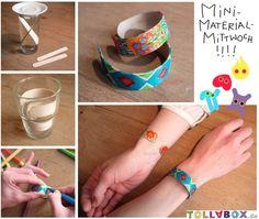Eis am Stiel? Stiel am Arm! Diese tolla Holzarmbänder sind ganz einfach aus Eisstielen zu machen: http://entdecke.tollabox.de/armband