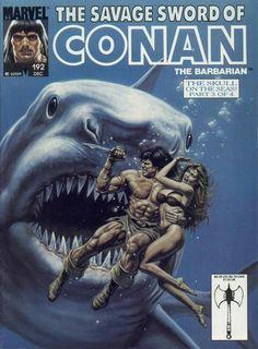Marvel Comics, Savage Sword of Conan  #192