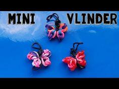 ▶ ♥ Rainbow Loom Nederlands Vlinder♥ ZONDER LOOM ♥ Butterfly - YouTube