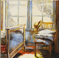 South African Artists, Impressionism, Art Ideas, Window, Contemporary, Painting, Image, Windows, Painting Art