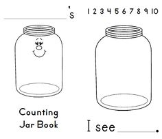 Estimation Jar Printables by First Grade Schoolhouse. 2