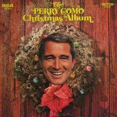 Vintage Christmas l LP Cover: Perry Como