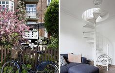 Billedresultat for spindeltrappe Oversized Mirror, Facade, Plads, House, Inspiration, Furniture, Home Decor, Image, Patio