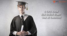 Ben jij (bijna) afgestudeerd? Lees in dit blog 3 tips om een goede start van je carrière te realiseren:  https://www.wetalent.nl/3-tips-voor-een-goede-start-van-je-carriere/    #afstuderen #starter #carrière #traineeship #youngprofessional