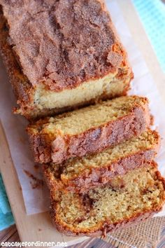 Amish Friendship Cinnamon Bread Alternative {without a starter} - Eat Cake For Dinner