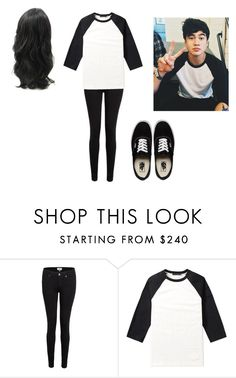 """""""Steal His Style-Calum Hood"""" by depressedteen-14 on Polyvore featuring Paige Denim, Alexander Wang and Vans"""