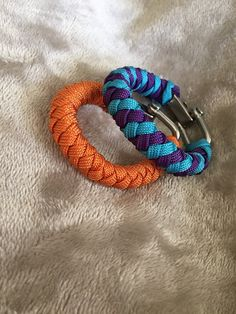 Round Braid Stackable Bracelets paracord bracelet by Paracord901