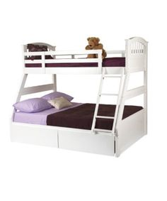 Sweet Dreams Apollo White Shaker Style Three Sleeper Bunk Bed NB: Shown with optional under bed storage drawers. Available to add to your order in the accessory tab above.A simple elegant design that looks good in a traditional or contemporary setting. The bed i http://www.comparestoreprices.co.uk/bunk-beds/sweet-dreams-apollo-white-shaker-style-three-sleeper-bunk-bed.asp