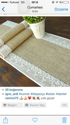 Rustic Decor, Runners, Cushions, Layout, Crafty, Couture, Weddings, Crochet, Artwork