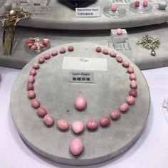 My favorite type of pearls: Natural conch pearls, one of the rarest type of pearls in the world. #hktdc #littlehjewelry