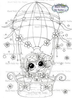 DOWMLOAD instantánea Digital Digi sellos ojo grande por SherriBaldy